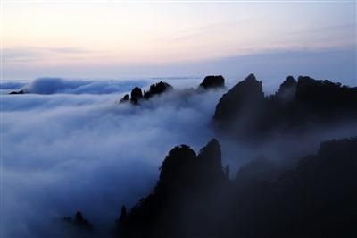 谋长远,争典范,黄山风景区的保护管理工作成效显著.